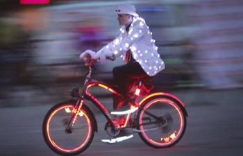 "In pics: ""Bike The Night"" event in Canada"