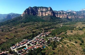 Scenery of Taihang Mountain in N China's Shanxi