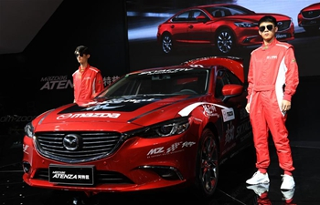 13th Xi'an Int'l Auto Show held in China's Shaanxi