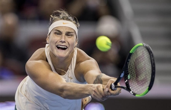 Highlights of women's singles second round at China Open