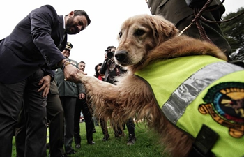 Recognition ceremony held in Colombia's Bogota to mark World Animal Day
