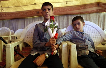 Feature: Yemeni children commemorate lost parents on anniv. of 2016 funeral hall airstrike