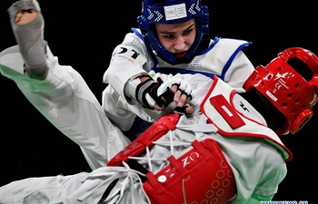 Highlights of taekwondo men's 55kg semifinal at 2018 Summer Youth Olympic Games