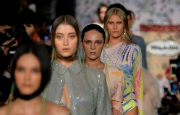 Alexia Ulibarri Show held during Mercedes-Benz Fashion Week in Mexico City