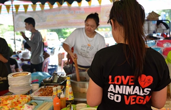Vegan Food Festival held in Vientiane, Laos