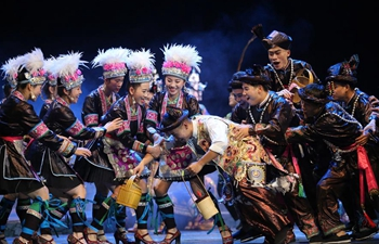 Musical drama of Dong ethnic group staged in SW China's Guizhou