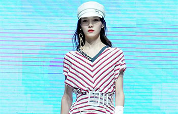 Creations of Chinese fashion brand XG presented in Wenzhou