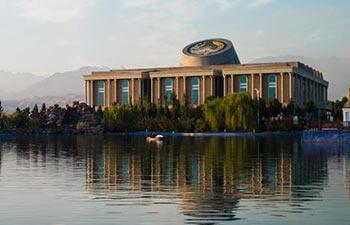 Scenery of Dushanbe in Tajikistan