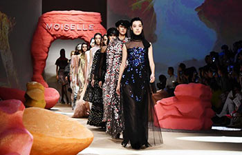 Creations presented at Shanghai Fashion Week
