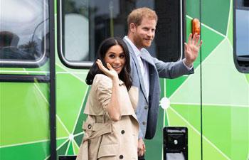 Britain's Prince Harry, Meghan visit Australia