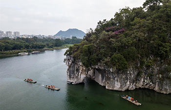 Scenery of south China's Guilin