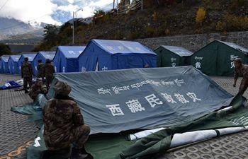 Relief work underway after landslide in Yarlung Tsangpo River