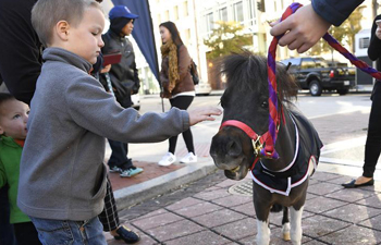 Breakfast with Mounted Police event held in U.S.
