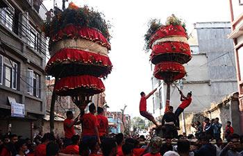 Hadigaun festival celebrated in Kathmandu, Nepal