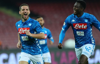 Napoli beats Empoli 5-1 during Serie A soccer match
