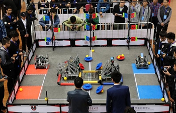 2018 China VEX Robotics Competition held in Shanghai