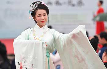 Traditional costume presented during Chinese Ritual Music Conference