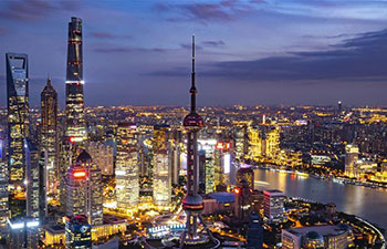 Shanghai greets CIIE guests with charming view