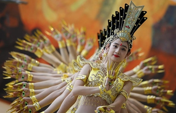 Artists perform Thousand-hand Bodhisattva dance at UN headquarters in New York