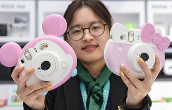 In pics: cute products showcased at China Int'l Import Expo