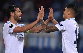 Lazio defeats Marseille 2-1 in UEFA Europa League