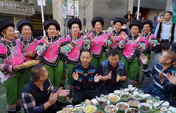Traditional festival celebrated in SW China's Yunnan