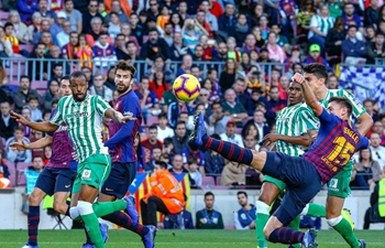 FC Barcelona loses to Real Betis 3-4 during Spanish league match