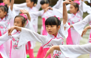 Education of traditional culture emphasized at primary school in Guangxi