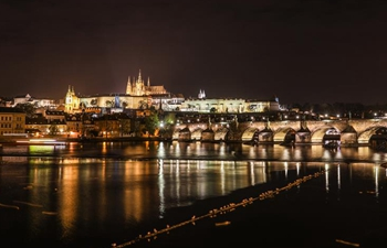 City view of Prague, Czech Republic