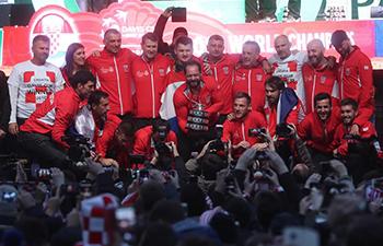 Croatian tennis players return home with honors