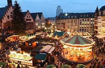 Frankfurt Christmas Market opens