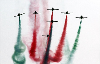 Pakistan's armed forces present air show, anti-terrorism drill
