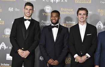 63rd Golden Ball ceremony held at Grand Palais in Paris