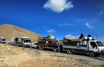Syrian refugees return to homeland from different areas in Lebanon