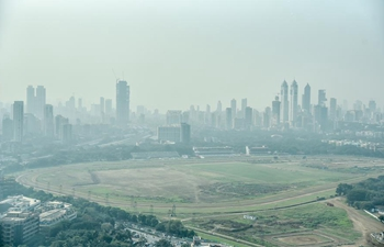 Smog shrouds Mumbai, India