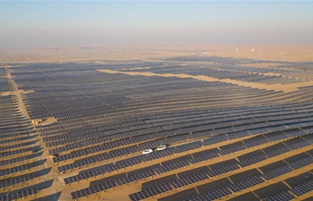 In pics: Dalad PV Power Base in Kubuqi Desert in Inner Mongolia