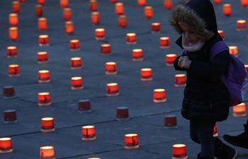 "Solidarity campaign ""One Million Stars"" marked in Bern, Switzerland"