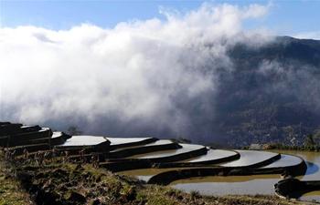 In pics: Hani terraced fields in Yuanyang County, SW China's Yunnan