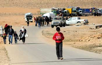 Over 1,000 Syrian refugees return home from Lebanon