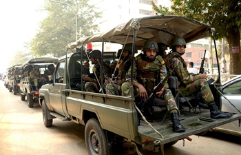 Army troops deployed in Bangladesh to ensure security before general election