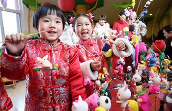 People around China celebrate upcoming New Year in various ways