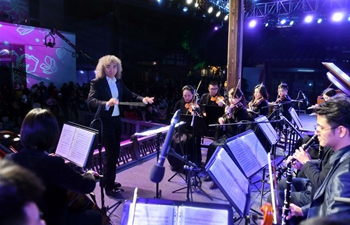 Symphony concert held to greet upcoming New Year in Fuzhou