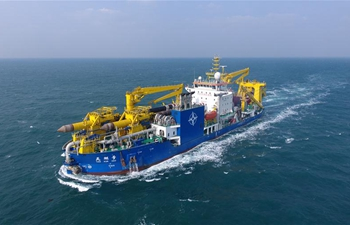 Asia's largest dredging vessel returns after completing sea trial