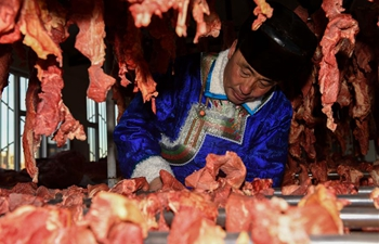 Air-dried beef becomes important source to increase income in Inner Mongolia
