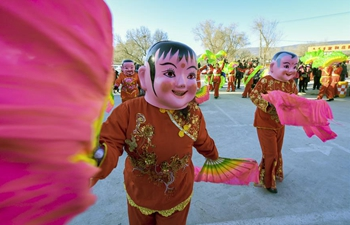 Intangible cultural heritage event held in Hohhot, N China's Inner Mongolia