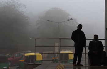 Thick fog hits New Delhi, India