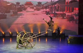 Spring Festival gala held in Wuqiao, north China's Hebei