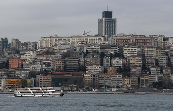 Scenery of Bosphorus Strait in Turkey