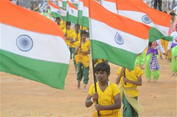70th Republic Day marked in Bangalore, India