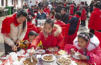 Folk activities held in Yuyao to celebrate upcoming Spring Festival